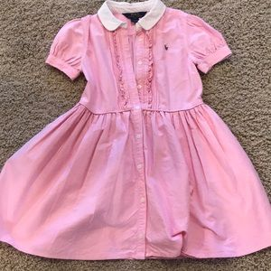 Girls Polo Size 6X dress